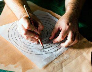 آموزش ساخت جاگلدانی چرمی