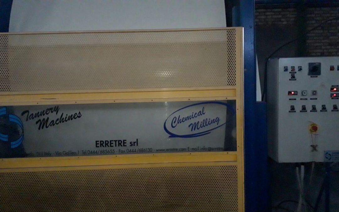 دستگاه بارابان میلینگ استیل- چرمسازی