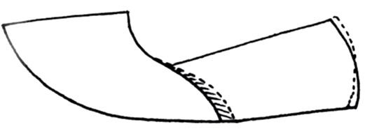 ایجاد خمش تند در خط تاخوردگی